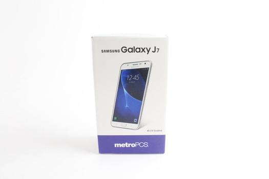 Samsung Glaxy J7 Smart Phone, Metro PCS