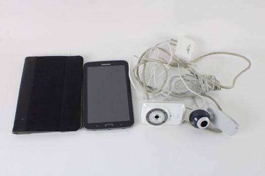 Samsung Tablet And More, 3 Pieces