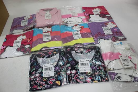 Sanrio Hello Kitty And The Children's Place Girl Clothing, 11 Pieces