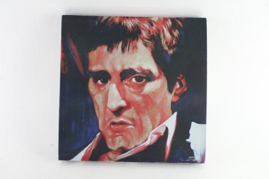 Scarface Portrait Painting