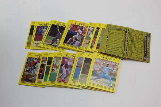 Score, Fleer+ More Baseball Sports Cards. 10+ Pieces