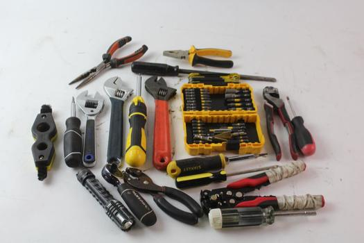 Screwdrivers, Ratchet And More, 15+ Pieces