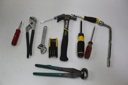 Screwdrivers, Wrenches, & More; 10+ Pieces