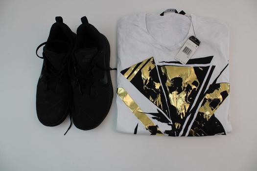 Sean John Men's Shirt & Nike Men's Shoes; 2 Pieces