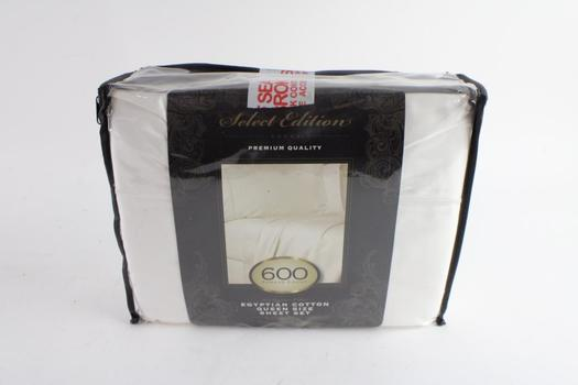 Select Edition 600 Thread Count Queen Size Sheet Set