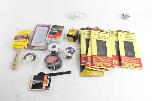 Self-Drill Screws, Paintbrush, And More, 15+ Pieces
