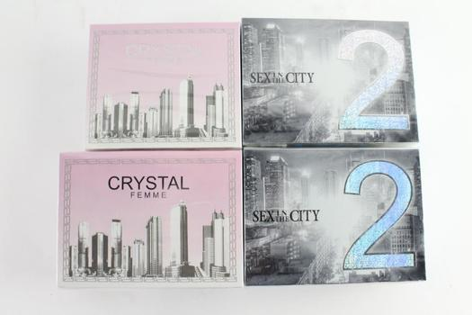 Sex In The City 2 And Other Women's Fragrance Sprays, 4 Pieces