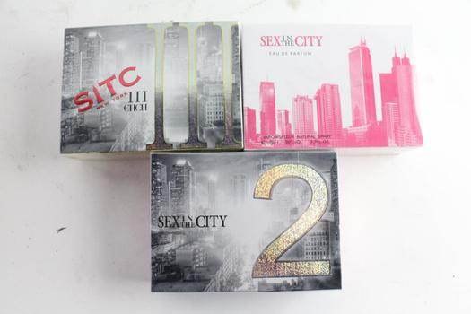 Sex In The City 2 And Other Women's Fragrances, 3 Pieces