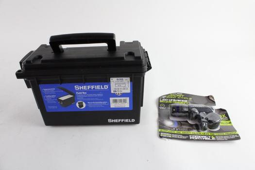 Sheffield Field Box And More, 2 Pieces