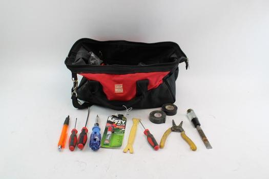Shop Basics Tool Bag With Tools