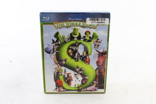 Shrek The Whole Series Blu-Ray Boxset