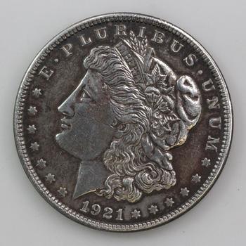 Silver 1921 Morgan Dollar