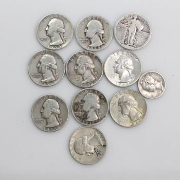 Silver U.S. Coins, 1 1pieces