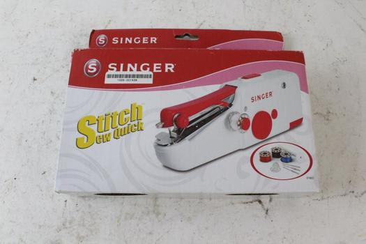 Singer Stitch Sew Quick Hand-held Sewing Device