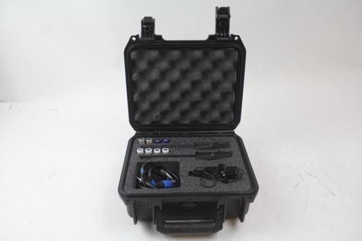 Skb Case, Sennheiser Ew100 Diversity Receivers, Cables
