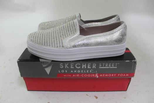 Skecher Street Girl's Shoes; Size 6