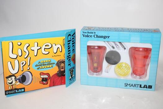 Smart Lab You Build It Voice Changer Toy