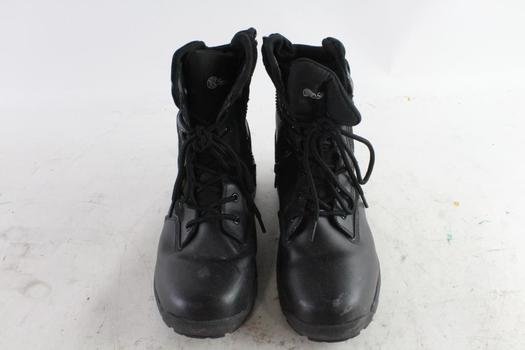 Smith & Wesson Side Zip Waterproof Boots, Size 11