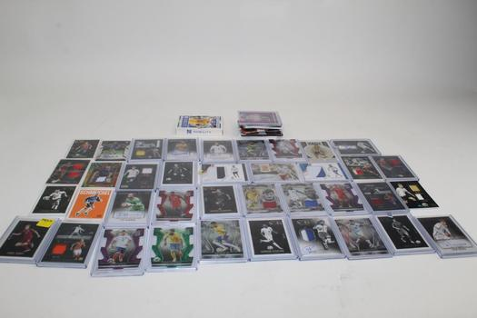 Soccer Trading Cards, 30+ Cards
