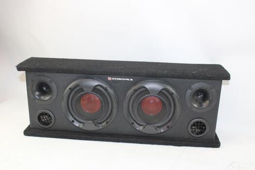 Sondpex 400W Black Speakers BB14065