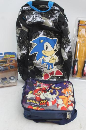Sonic The Hedgehog Backpack Sonic The Hedgehog Lunch Box
