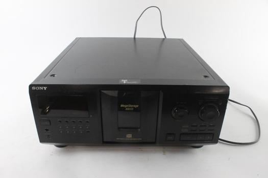 Sony 300-disc CD Changer Player