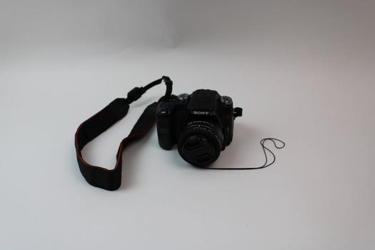 Sony Alpha 100 Digital SLR Camera