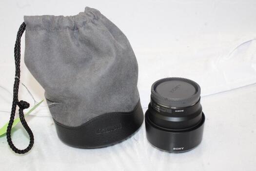Sony - FE 50mm F1.8 E-mount Lens (SEL50F18F)