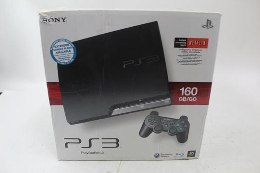 Sony Playstation 3 160GB Gaming Console