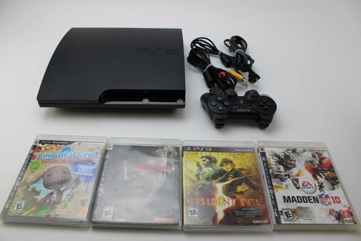 Sony PlayStation 3 Slim Video Game Console