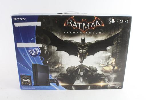 Sony Playstation 4, Batman Arkham Knight Edition