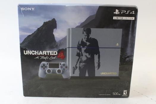 Sony Playstation 4 Uncharted 4 Limited Edition