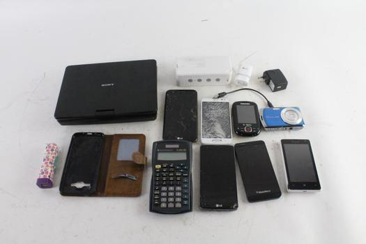 Sony Portable DVD Player, Casio Digital Camera, And More, 5+ Pieces