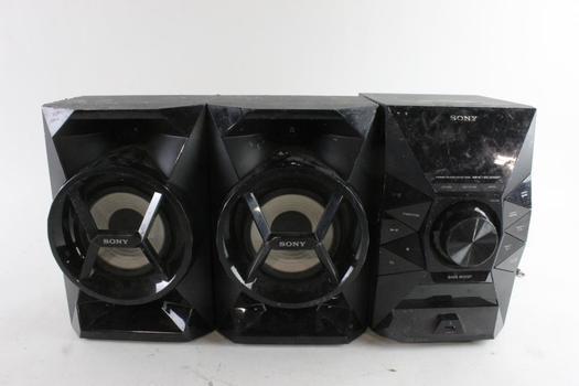 Sony Speaker System, 3 Pieces