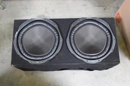 Sony Speakers In Speaker Box