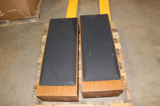 Sony Standing Floor Speaker, 2 Pieces