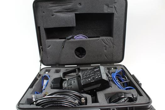 Sony Super 35 Camcorder With Case And Accessories