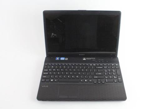 Sony Vaio Laptop, Sold For Parts