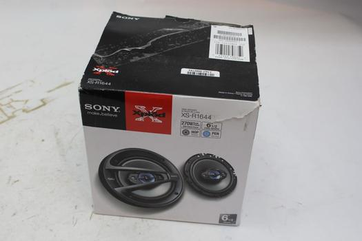 Sony Xpl D 4 Way Speakers XS-R1644