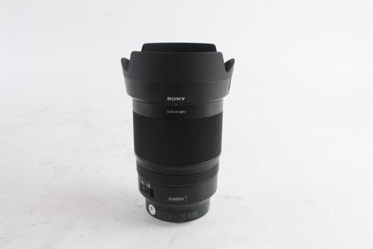 Sony Zeiss Lens