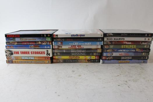Spider-Man, White Chicks, Coach Carter, And More, DVDs, 5+ Pieces