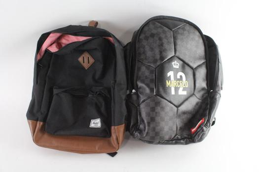 Sprayground And Other Bags, 2 Pieces