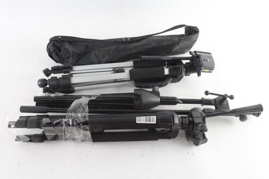 Stage Stand And Other Camera Tripods, 3 Pieces