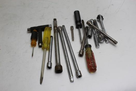 Stanley, Craftsman+ More Assorted Tools 10+ Pieces