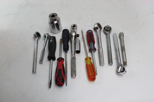 Stanley, Great Neck+ More Assorted Tools 10+ Pieces