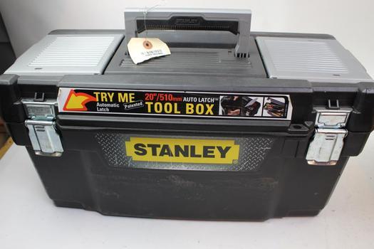 Stanley Tool Box, Jumper Cable, Reflectors, Compressor And More: Durabuilt: 5+ Items