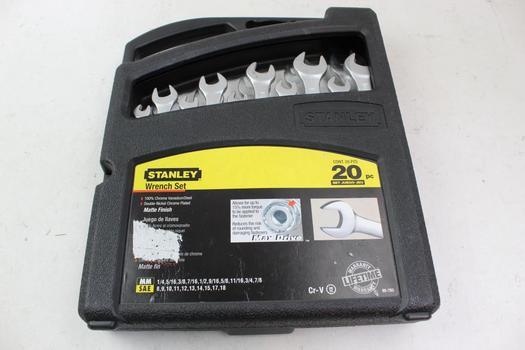 Stanley Wrench Set