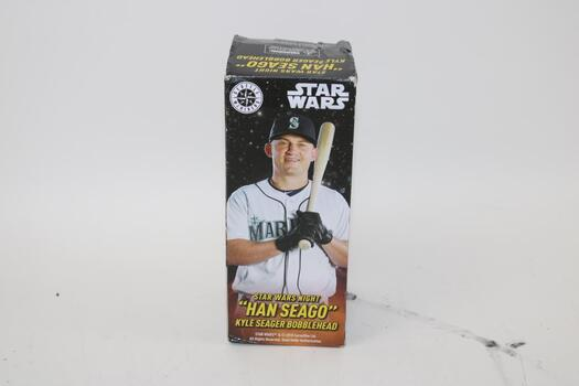 """Star Wars Seattle Mariners """"Han Seago"""" Kyle Seager Bobblehead"""