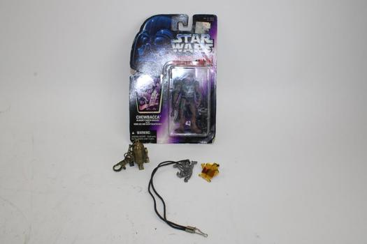 Star Wars Shadows Of The Empire Chewbacca In Bounty Hunter Disguise & More; 3 Pieces
