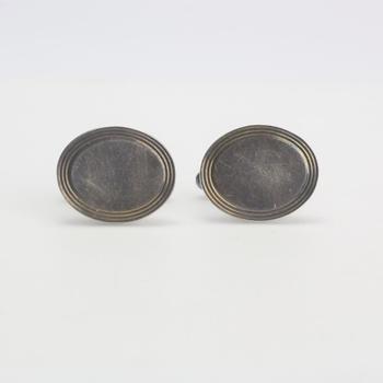 Sterling Silver 12.52g Tiffany & Co. Cufflinks